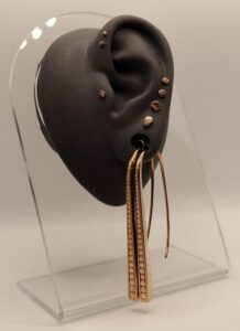 14K Rose Gold Curated Ear